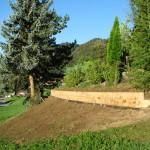 aménagement en poutres de chêne