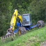 équipement pour nettoyage de forêt